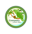 Jungle-Drink-Logo-380x400 vector image vector image