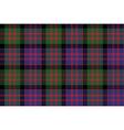 Macdonald tartan kilt fabric textile check pattern vector image vector image