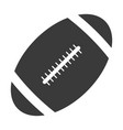 oval ball for playing rugby american football game vector image