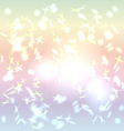 Abstract background pastel color Rainbow Glare vector image
