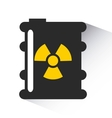 atomic nuclear industry icon vector image vector image