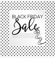 black friday autumnal holiday sellout of shops vector image