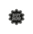 buy now sign icon - shop label symbol offer vector image
