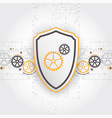 protect mechanism system privacy vector image