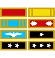 The insignia of the US Army during the Civil War vector image vector image