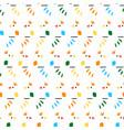 abstract minimalist birds seamless pattern vector image vector image
