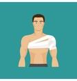 Bandaged shoulder