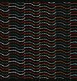 bohemian leaf stalk stripe seamless patter vector image vector image