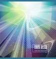 bright background with intense glowing sparkles vector image