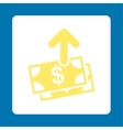 Pay Icon from Commerce Buttons OverColor Set vector image