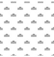 railway station pattern seamless vector image vector image