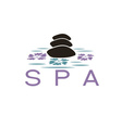spa design template vector image