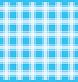 turquoise gingham pattern seamless background vec vector image vector image