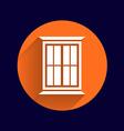 window icon button logo symbol concept vector image vector image