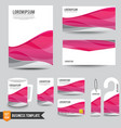 Brochure background template 004 vector image