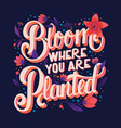 colorful decorative handwritten typography design vector image