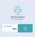 development idea bulb pencil scale business logo vector image vector image