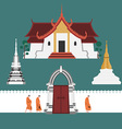 ThaiTemple preview vector image