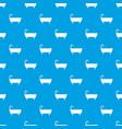 bathtub pattern seamless blue vector image vector image