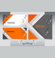 business banners design vector image vector image