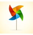 Colorful Windmill vector image vector image