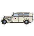 Vintage ambulance car