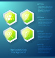 web infographic business template vector image vector image