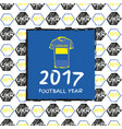 Football 2017 vector image