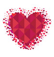 heart love card icon vector image vector image