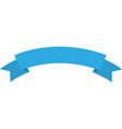 ribbon emblem blank vector image vector image