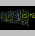 The best routine i ve ever done text background