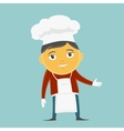 Cook Character vector image