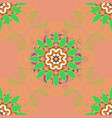 abstract stylized colored mandala intricate vector image