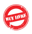 buy here rubber stamp vector image vector image