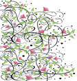 Flourishes-in-black-5 vector image vector image