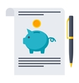 Retirement Planning Concept vector image