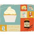 retro baking poster ingredients