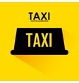 taxi signal design vector image