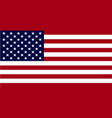 usa flagflag united states vector image vector image
