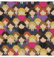 business women pattern vector image