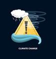 climate change design vector image
