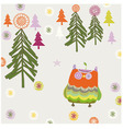 cute graphic vector image vector image