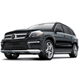 Germany full size luxury SUV vector image