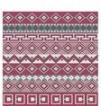 Knitted background in fair isle style vector | Price: 1 Credit (USD $1)