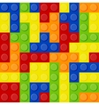 Lego Tetris vector image vector image
