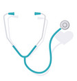 stethoscope and heart 3 vector image