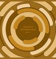 abstract background yellow circle border vector image vector image