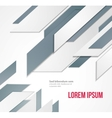 Abstract business background Template brochure vector image