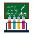 chemistry concept vector image