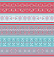 traditional geometrical seamless pattern vector image vector image